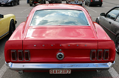Ford Mustang (Rick & Bart) Tags: automobile oldtimer car rickvink rickbart canon eos70d classic ford fordmustang musclecar transport 1969