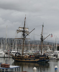 Tall Ship (charlottes flowers) Tags: tallship hawaiianchieftain venturaharbor