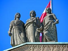Berlin - Museumsinsel, Alte Nationalgalerie (www.nbfotos.de) Tags: berlin museumsinsel altenationalgalerie statue skulptur sculpture