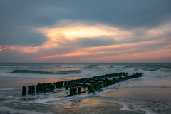 Sunset in Zeeland (aj.lindeboom) Tags: sunset zeeland seascape clouds