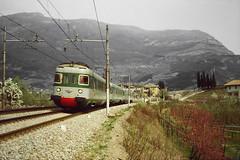 """Intercity 543 """"Marco Polo"""" (Cimacapi) Tags: rovereto ic intercity ale601 icmarcopolo trentino trento fs elettromotrice elettromotrici ferroviabrennero brennerbahn le780 le601 le480 le700"""