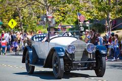 Old Timer (Thomas Hawk) Tags: 4thofjuly america california eastbay fourthofjuly holiday independanceday july4 july4th piedmont usa unitedstates unitedstatesofamerica auto automobile car parade fav10