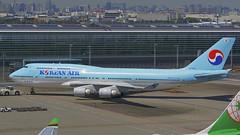 Boeing 747-4B5, HL7402, Korean Air (tkosada.mac) Tags: koreanair skyteam boeing b744 tokyointernationalairport hanedaairport hnd rjtt