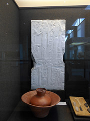 Brussel / Bruxelles, Art & History Museum (Cinquantenaire Museum) (risotto al caviale) Tags: openingofthemouth ceremony washingbowl stela