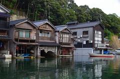 伊根の舟屋(Ine no Funaya/Kyoto) (Marvelous Chester) Tags: 京都 海 kyoto japan sea pentax fa31mm limited k30