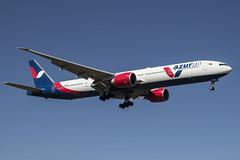 VQ-BZA Azur Air Boeing 777-300 (Nathan_Ivanov) Tags: airplane aicraft vko vnukovo uuww spotting boeing boeing777