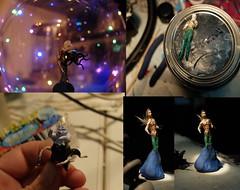 aquamanclips (Shabnam_J) Tags: aquaman aqua dccomics disney ursula leittlemermaid clayart arttoronto toronto airdryclay miniature miniatures