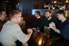 "Drinks at Dovecot • <a style=""font-size:0.8em;"" href=""http://www.flickr.com/photos/156364415@N06/47569955972/"" target=""_blank"">View on Flickr</a>"