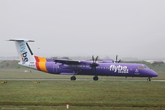 Flybe Dash8 Q400 G-ECOH at Isle of Man EGNS 16/04/19 (IOM Aviation Photography) Tags: flybe dash8 q400 gecoh isle man egns 160419