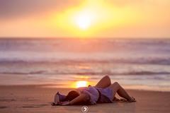 Face à la mer (popz.photographie) Tags: ocean beach sunset labenne landes