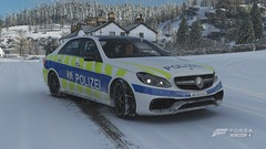 Forza Horizon 4 Mercedes E 63 AMG Switzerland Basel Police (crash71100) Tags: forza horizon 4