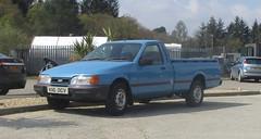 1992 Ford P100 (occama) Tags: k116ocv 1992 ford p100 diesel old blue pickup ute sierra cornwall uk cornish