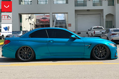 Storefront_website (Miami AutoSport) Tags: bmw m4 vossen vossenwheels hf3 hybrid forged michelin ps4s pilot sport 4s tires anthracite wheels unlimited wraps
