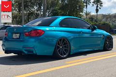 Sideshot_website (Miami AutoSport) Tags: bmw m4 vossen vossenwheels hf3 hybrid forged michelin ps4s pilot sport 4s tires anthracite wheels unlimited wraps
