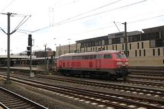 218 838 te Hannover HBF (vos.nathan) Tags: db deutsche bahn br 218 baureihe 838 hannover hbf hauptbahnhof