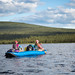 Evening paddle on Paxson Lake
