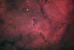 The Elephant's Trunk Nebula (AstroBackyard) Tags: elephants trunk nebula ic 1396 emission oiii ha skywatcher esprit 100 ed apo refractor astronomy astrophotograhphy space