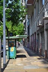 (gabrielacirne) Tags: manhã morning viajar viagem trip travel fotografia photography cores colors sidewalk calçada cidade city tropical urbano urban verão summer graffiti grafite rua street argentina bsas buenosaires