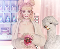 Drama Llama (Closer) (Gabriella Marshdevil ~ Trying to catch up!) Tags: sl secondlife cute kawaii doll lootbox genus