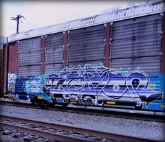 (timetomakethepasta) Tags: jero icr freight train graffiti art autorack