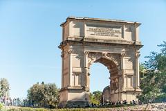 Arch of Titus (RoamingTogether) Tags: 70200vrii archoftitus arcoditito europe italy nikon nikon7020028 nikond700 romanforum rome