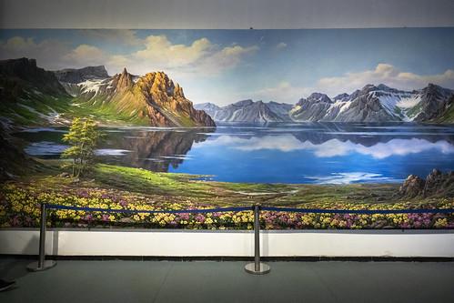 North Korean art exhibit