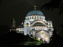 St. Sava Church at night, Belgrade, Serbia (Paul McClure DC) Tags: belgrade beograd serbia srbija balkans may2015 architecture historic church orthodox