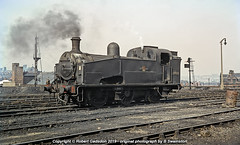 1962 - J50 in the Sun.. (Robert Gadsdon) Tags: 1962 leeds copleyhillshed lner gresley j50 060t 68988 steam withdrawn scrapped closedshed