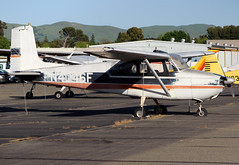N4046F Private Cessna 172 Skyhawk (BayAreaA380Fan Photography) Tags: privatejet businessjet jet bombardier bombardierglobalexpress cessna cessna172 planespotting aircraft airplane