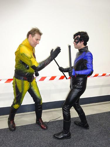 Nightwing in peril