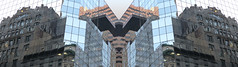 A17550 / reflectorama at 5th avenue and west 45th street (janeland) Tags: newyorkcity newyork 10036 midtown 5thavenue reflectorama symmetricized symmetry highrise reflections architecture abstract sísepuede something panorama may 2018