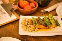 Bacalao a la Llauna (brujulea) Tags: brujulea restaurantes bares barcelona cal trapella cuina mercat bacalao llauna