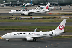 JA335J B737-800 and JA822J B787-8 Japan Airlines (JaffaPix +5 million views-thanks...) Tags: ja302j b737800 ja822j b788 b787 787 b7878 dreamliner japanairlines jal jaffapix davejefferys tokyoairport japan aircraft airplane aeroplane aviation flying flight runway airline airliner hnd haneda tokyohaneda hanedaairport rjtt planespotting 737 b737 b738 boeing