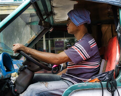 Concentration (Beegee49) Tags: jeepney street people driver driving concentrate happy planet luminar sony a6000 bacolod city philippines asia happyplanet asiafavorites