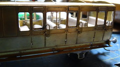 DSC09450 (BluebellModelRail) Tags: lbscr londonbrightonsouthcoastrailway oo 4mm roxeymouldings brass bluebellrailway etchedkit solder 949 brakethird mahogany carriage 4wheeler southernrailway