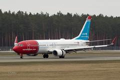 A56A1869@L6 (Logan-26) Tags: boeing 7378jp lnnge msn 39050 norwegian air shuttle riga international rix evra latvia airport aleksandrs čubikins