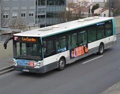Irisbus (Iveco Bus) Citélis 12 phase II, RATP/Régie Autonome des Transports Parisiens, fleet # 5308, coming along with Ile de France Mobilités small markings, at Paris-La Défense ring road on 2019-03-27 (alaindurandpatrick) Tags: ivecobus iveco irisbus citélis irisbuscitélis buses masstransit ratp régieautonomedestransportsparisiens masstransitcompanies iledefrancemobilités masstransitauthorities courbevoie parisladéfense ringroads 92 hautsdeseine iledefrance greaterparisarea france