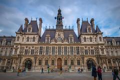 Hôtel de Ville, Paris (CamelKW) Tags: 2019 paris hôteldeville