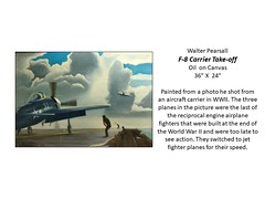 """F-8 Carrier Take-off • <a style=""""font-size:0.8em;"""" href=""""http://www.flickr.com/photos/124378531@N04/47577052452/"""" target=""""_blank"""">View on Flickr</a>"""