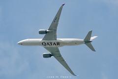 Qatar Airways A350-941 A7-ALA (José M. Deza) Tags: 20190414 a350941 a7ala airbus homespotting planespotting qatarairways santcugatdelvalles spotter aircraft hightaltitudespotting