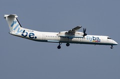 G-FLBB / Bombardier DHC-8Q-402 / 4255 / FlyBE (A.J. Carroll (Thanks for 1 million views!)) Tags: gflbb bombardier dhc8q402 dhc8q400 dhc8400 dhc8d dh8d 4255 pw150a flybe 4060a4 london heathrow lhr egll 09l