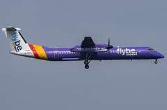 G-PRPL / Bombardier DHC-8Q-402 / 4380 / FlyBE (A.J. Carroll (Thanks for 1 million views!)) Tags: gprpl bombardier dhc8q402 dhc8q400 dh8d dhc8 4380 pw150a flybe 406d96 london heathrow lhr egll 09l