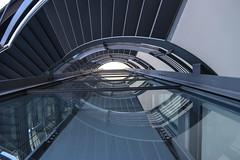 Hörn Campus (Elbmaedchen) Tags: staircase treppenhaus stairs stufen stairwell kiel hörncampus architektur architecture glas