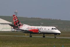Loganair Saab 340B G-LGNK at Isle of Man EGNS 17/04/19 (IOM Aviation Photography) Tags: loganair saab 340b glgnk isle man egns 170419