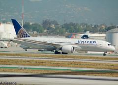 UNITED B787 N26909 (Adrian.Kissane) Tags: united lax b787 n26909 2042016 34827 airport taxing ground aeroplane dreamliner