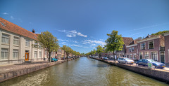 Oudegracht, Alkmaar. (Alex-de-Haas) Tags: oogvoornoordholland 11mm alkmaar blackstone d850 dutch europa europe european hdr holland irix irix11mm irixblackstone lightroom nederland nederlands netherlands nikon nikond850 noordholland photomatix photomatixpro westfrisia westfriesland westfries architecture architectuur building buildings center centrum city cityscape gebouw gebouwen innercity stad straat street summer town urban zomer northholland