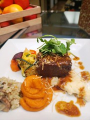 (cafe_services_inc) Tags: cafeservice corporatedining comcastmanchester guestchef chef employee frenchcuisine plate