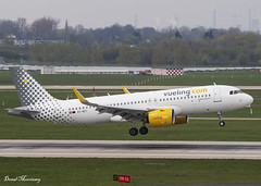 Vueling A320-200N EC-MZT (birrlad) Tags: dusseldorf dus international airport germany aircraft aviation airplane airplanes airline airliner airlines airways arrival arriving landing landed runway vueling airbus a320 a20n a320200n a320271n neo ecmzt