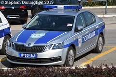 FuStw -Skoda Octavia III- Grenzpolizei SRB (Stephan Dannigkeit) Tags: police policija policja border grenzpolizei polizei serbia serbien flughafen belgrad skoda octavia airport lotnisko belgrade beograd