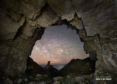 'The Portal' (macdad1948) Tags: stars dorset milkyway winspit astro cavern quarry astrophotography starscapes nightscapes worthmatravers jurassiccoast portal cave swanage samyang24mm14